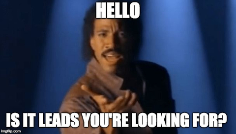 lead generation meme